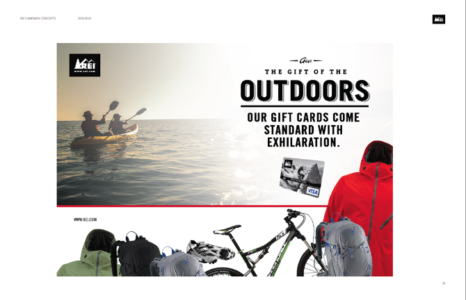 REI: Give the Gift of the Outdoors - Jonathan Marshall: Senior ...